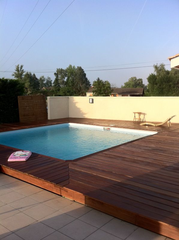 Piscine traditionnelle sur mesure saint m dard en jalles for Piscine traditionnelle