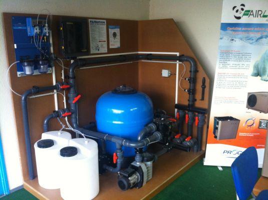 Filtration fm piscines for Silice filtration piscine
